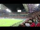 Сочи. ЧМ-2018 по футболу. Матч Испания - Португалия. Волна на Фиште