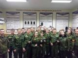Кадеты «Смоленского фельдмаршала Кутузова кадетского корпуса» в электронном тире Военной Академии