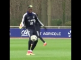 Paul Pogba with the tekkers
