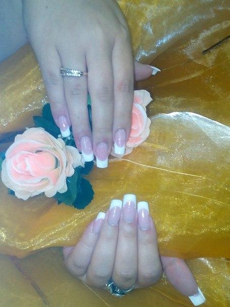 Вчера ученицы курса Базового наращивания ногтей