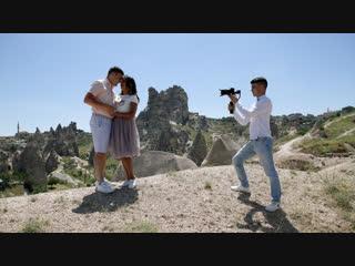 Съемки клипа в Каппадокии для Алсу и Азата Фазлыевых