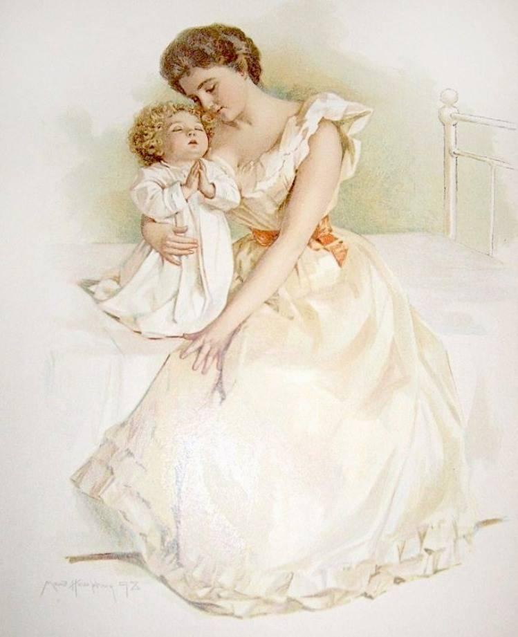 Поздравление днем, открытка с днем рождения мама ретро