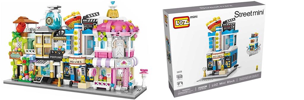 """Конструктор LOZ Street Mini """"Кинотеатр"""" 1635"""