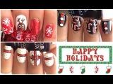 3 Новогодних дизайна ногтей