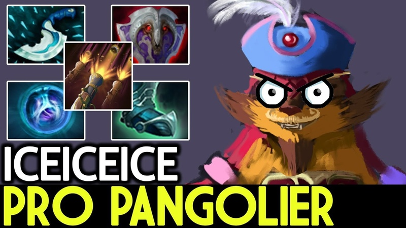 Iceiceice [Pangolier] PERFECT COMBO of Pro 7.17 Dota 2