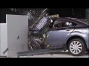 2012 Mazda 6 small overlap crash test - Мазда 6 краш тест 2013