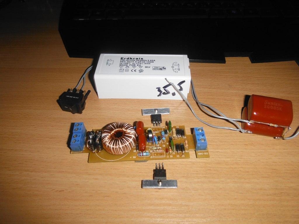 электронный трансформатор get-06 схема