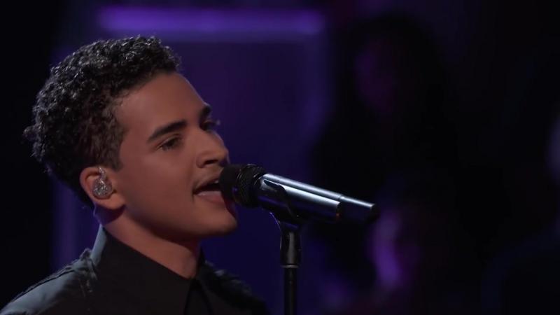 The Voice 2017 - Anthony Alexander отлично спел Perfect на плей-оффе