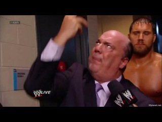 Paul Heyman makes a prediction for a match against CM Punk at Hell in a Cell PPV (WWE RAW, 21.10.2013)