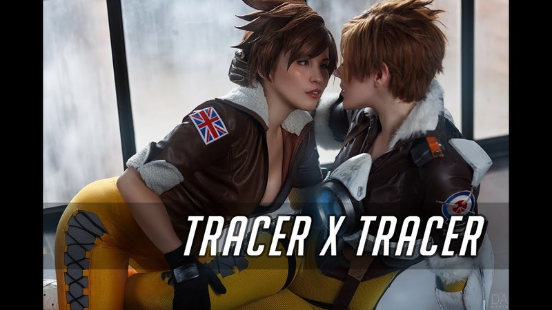 HOT COSPLAY: Tracer x Tracer. Music video