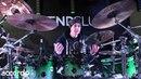 Virgil Donati soundcheck e riscaldamento prima dello show Drum Lesson
