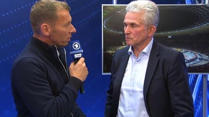 Heynckes im Interview nach Niederlage im Pokalfinale! Bayern vs Frankfurt 1:3
