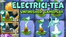 PvZ2 New Plant Electrici tea Unfinished Gameplay Official Beta 7 4 1