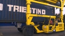 BAP Group use container handler from Briggs Equipment at Port of Felixstowe