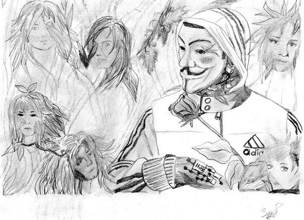рисунки к 9: