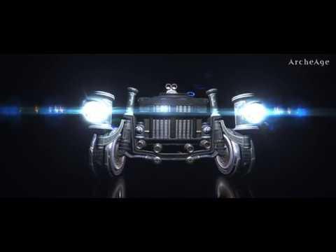 아키에이지 - 스트라다 프로모션 영상(ArcheAge - New Vehicle)
