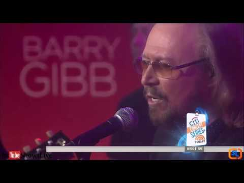 Barry Gibb - In The Now Hits - Live on TV 2016