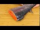 Малосольная красная рыба семга