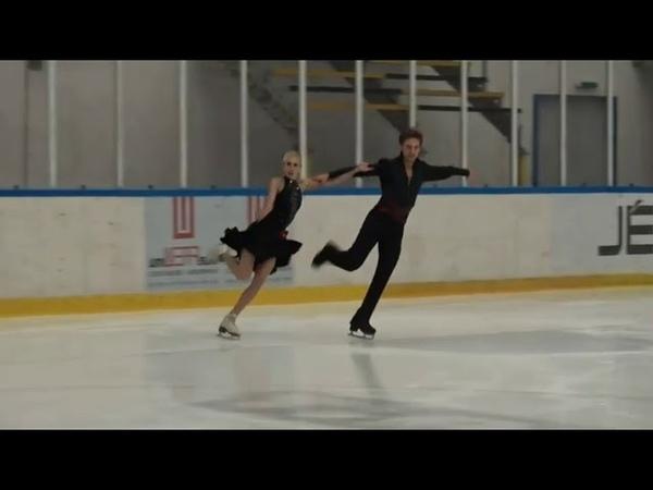 Anna YANOVSKAYA Adam LUKACS HUN Rhythm Dance Halloween Cup 2018