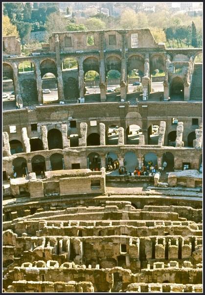 Подборка ретро-фотографий Рима