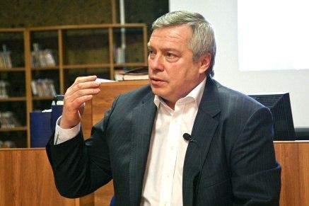 Голубев занял третье место в медиарейтинге губернаторов Южного федерального округа