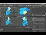 Cinema 4d tutorial turbulenceFD for beginners part 9