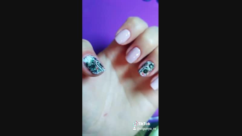Преображение ноготков Shellac Nails by Olgunya_Re