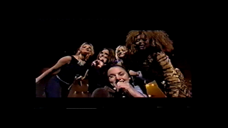 Spice Girls - 2 Become 1 and Wannabe @ Gouden Oog Gala 08.02.1997