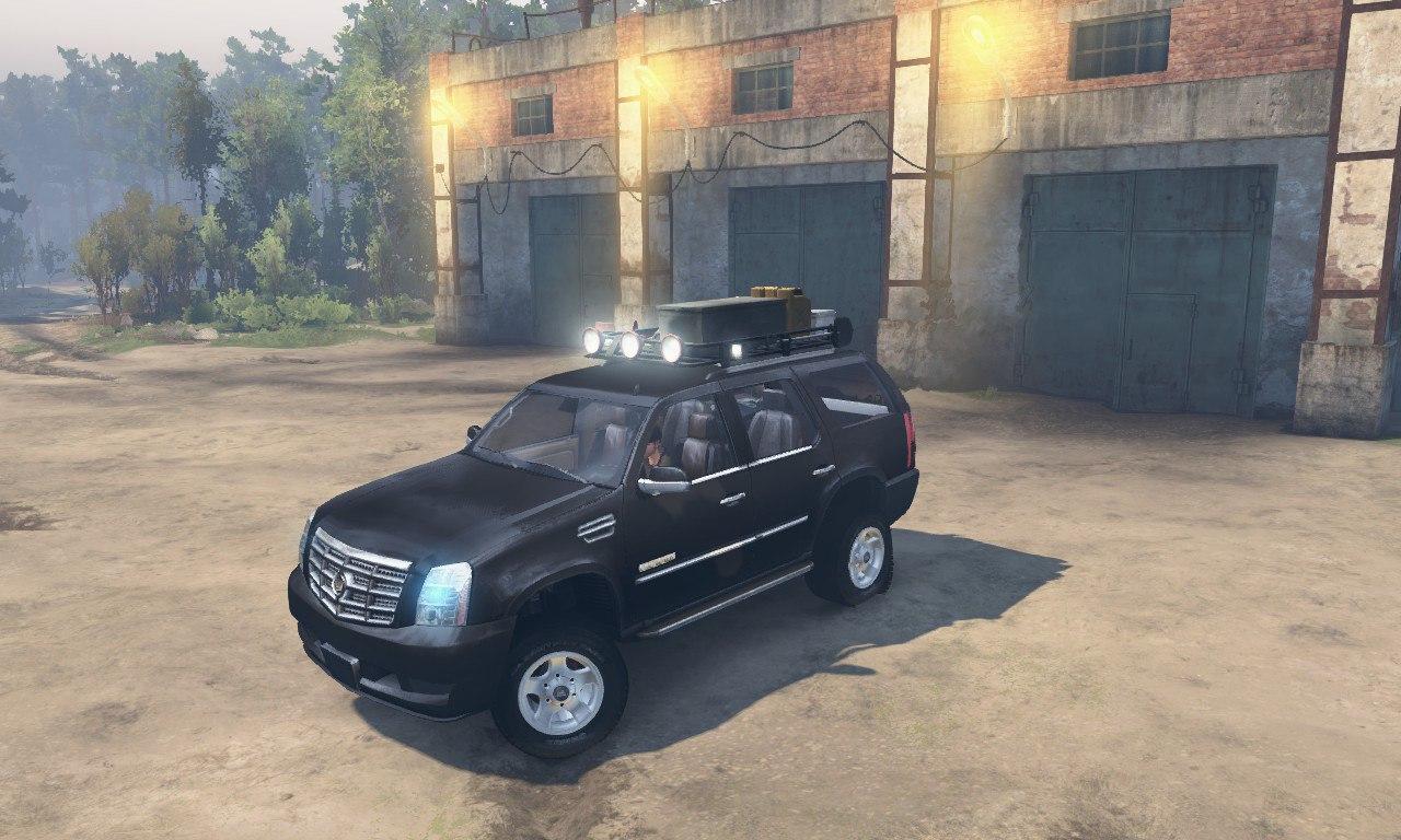 Cadillac Escalade для 03.03.16 для Spintires - Скриншот 3