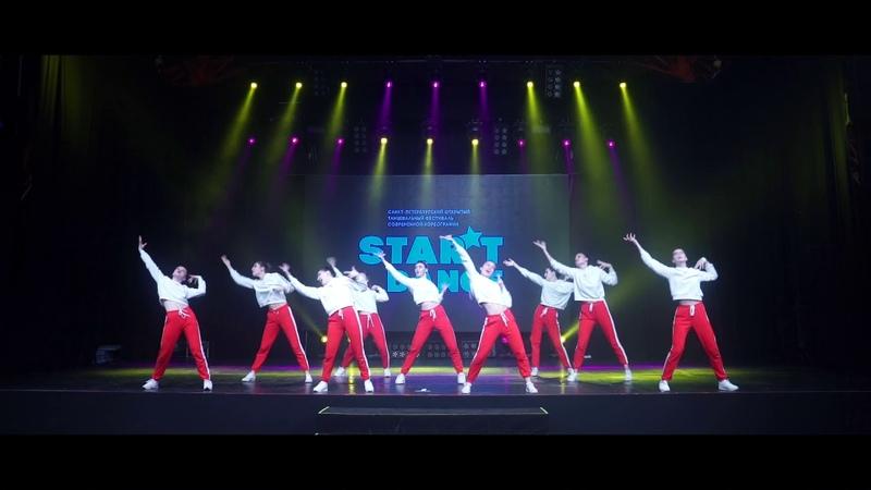 STAR'TDANCEFEST VOL13 2'ST PLACE Diva mix juniors beginners MOVE ON