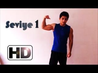 Yeni başlayanlar için evde vücut geliştirme hareketler egzersizler antrenman programı 1