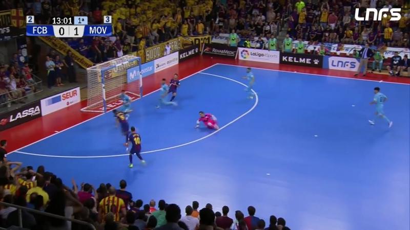Примера LNFS. Финал. Четвертая игра. Барселона Ласса - Интер Мовистар. (Счет в серий 2:2)