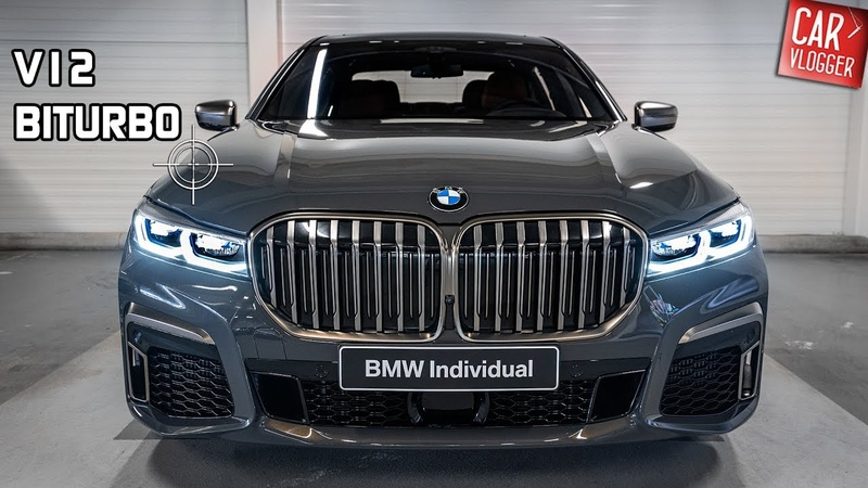 INSIDE the NEW BMW M760Li xDrive 2019 Interior Exterior DETAILS w V12 REVS