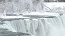 Parts of Niagara Falls freeze due to cold snap/winter storm
