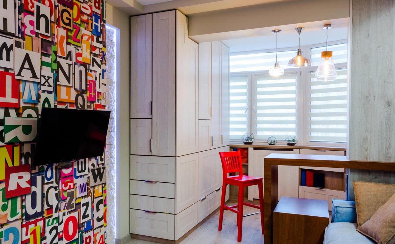 Квартира-студия 30 м в Киеве.