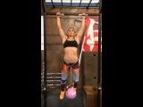 UFC Krakow: Aleksandra Albu training for Izabela Badurek