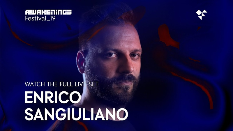 Awakenings Festival 2019 Saturday - Live set Enrico Sangiuliano @ Area X