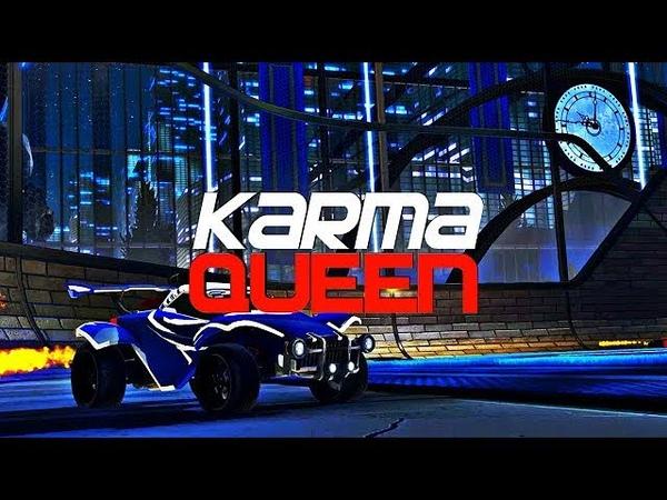 KARMA - QUEEN OF ROCKET LEAGUE (BEST GOALS, RESETS, DRIBBLES)