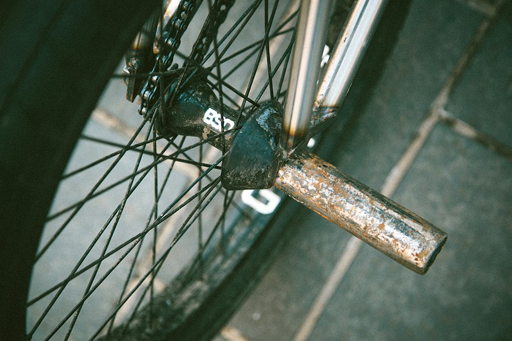 bsd rear hub