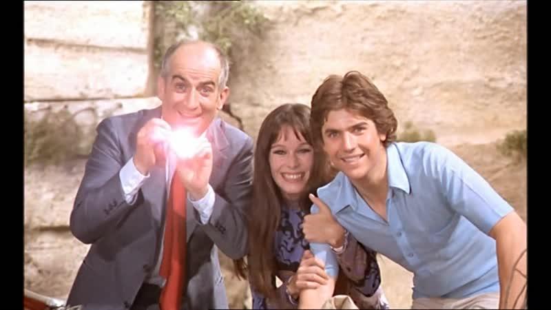 Х Ф На древо взгромоздясь Sur un arbre perché Франция 1971 Комедийный фильм с Луи де Фюнесом в одной из главных ролей
