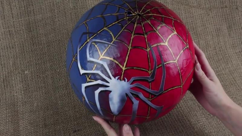 Как сделать пиньяту человека паука
