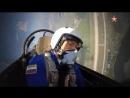 Пилотаж Героя России Михаила Беляева на МиГ29 кадры из кабины