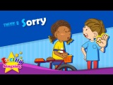 Kids' English   Theme 8. Sorry - Watch out! Are you okay?   ESL Song & Story - Learning English for Kids