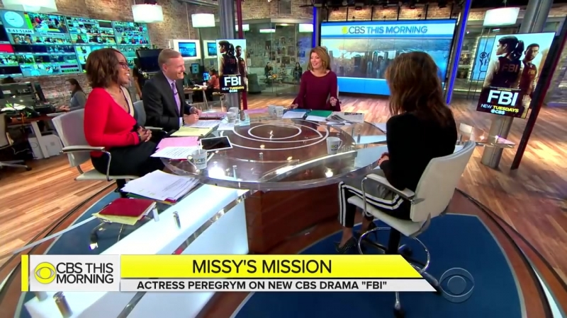 Missy Peregrym on working with former agents to prepare for FBI role