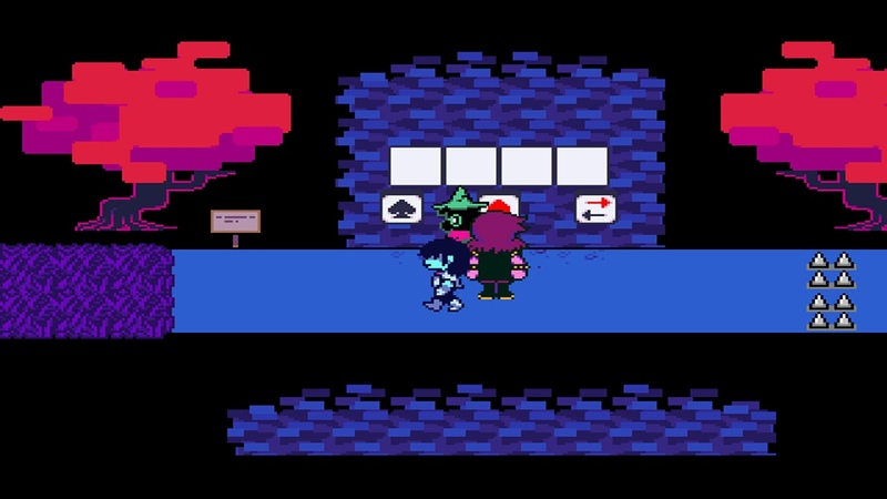 BEST THRIO EVER! DELTARUNE 4 - Field ( Key C) [1080p60]