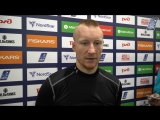 Дмитрий Шикин - интервью после матча
