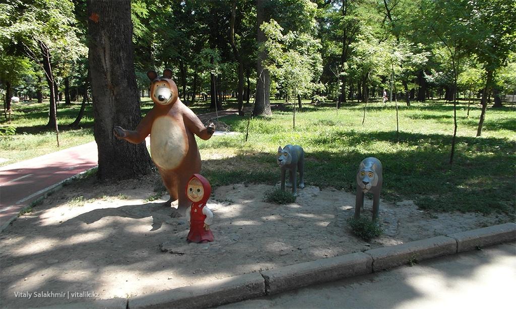 Маша и медведь, Парк Горького 2018