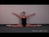 Симпатичная и гибкая балерина (1)