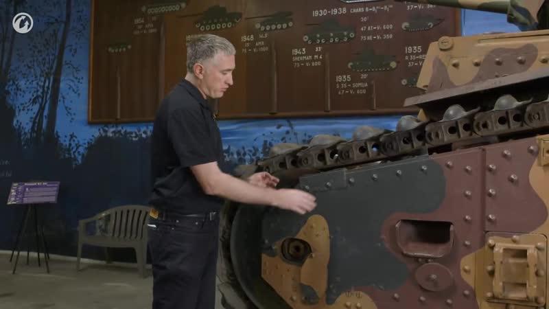 Рассмотри Char В1 Bis. В командирской рубке. Часть 1