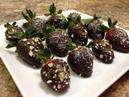 Полезный десерт Клубника в шоколаде Healthy Chocolate Covered Strawberries HASfit Vegan Chocolate Sauce Healthy Dessert Recipes